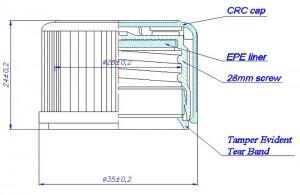 Verschluss DIN 28 CRC&TE